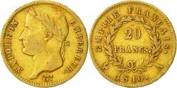 World Coins - Coin, France, Napoléon I, 20 Francs, 1810, Paris, VF(30-35), Gold, KM:695.1