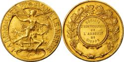World Coins - France, Medal, Société d'Horticulture de l'Arrondissement de Dieppe, Arthus