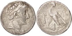 Ancient Coins - Syria (Kingdom of), Demetrios II Nikator (129-125 BC), Demetrios II, Seleucia,..