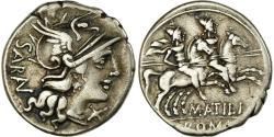 Ancient Coins - Coin, Atilia, Denarius, Rome, , Silver, Crawford:214/1a