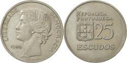 World Coins - Portugal, 25 Escudos, 1980, , Copper-nickel, KM:607a
