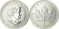 World Coins - Coin, Canada, Elizabeth II, 5 Dollars, 2006, Royal Canadian Mint, , Silver