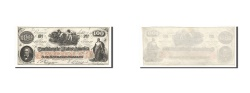 Us Coins - Confederate States of America, 100 Dollars, 1862, KM:45, 1862-08-26, UNC(60-62)