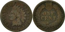 Us Coins - Coin, United States, Indian Head Cent, Cent, 1882, U.S. Mint, Philadelphia