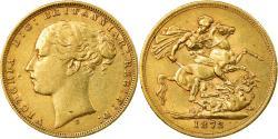 World Coins - Coin, Australia, Victoria, Sovereign, 1872, Sydney, , Gold, KM:7