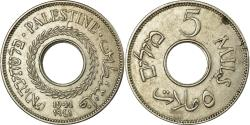 World Coins - Coin, Palestine, 5 Mils, 1941, , Copper-nickel, KM:3
