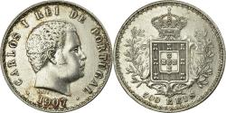 World Coins - Coin, Portugal, Carlos I, 500 Reis, 1907, , Silver, KM:535