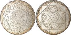 World Coins - Coin, Morocco, 'Abd al-Aziz, 5 Dirhams, 1900, Berlin, , Silver, KM:12.1