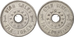 Us Coins - United States, Token, Utah State Tax Commission