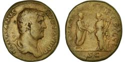 Ancient Coins - Coin, Hadrian, As, 117-138, Roma, VF(30-35), Copper, RIC:814