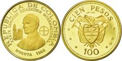 World Coins - Coin, Colombia, 100 Pesos, 1968, , Gold, KM:231