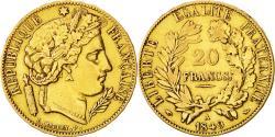Ancient Coins - Coin, France, Cérès, 20 Francs, 1849, Paris, EF(40-45), Gold, KM 762