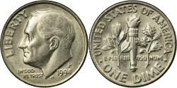 Us Coins - Coin, United States, Roosevelt Dime, Dime, 1994, U.S. Mint, Philadelphia