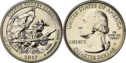 Us Coins - Coin, United States, Indiana, Quarter, 2017, Denver, , Copper-Nickel Clad