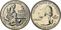 Us Coins - Coin, United States, New Jersey, Quarter, 2017, Denver, , Copper-Nickel