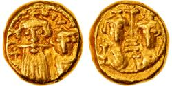 Ancient Coins - Coin, Constans II and Constantine IV, Solidus, 659-668, Carthage,