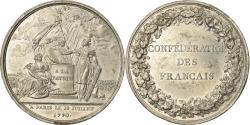 World Coins - France, Medal, Louis XVI, Révolution Française, Confédération des Français