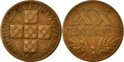 World Coins - Coin, Portugal, 20 Centavos, 1956, , Bronze, KM:584