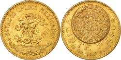 World Coins - Coin, Mexico, 20 Pesos, 1918, Mexico City, , Gold, KM:478