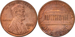 Us Coins - United States, Lincoln Cent, 1979, Denver, , KM:201
