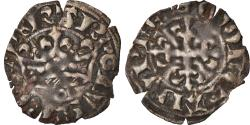World Coins - Coin, France, Charles IV, Double Parisis, 1326, , Billon, Duplessy:244c