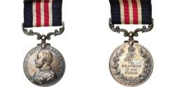 World Coins - United Kingdom, Georges V, For Bravery in the Field, Medal, 1914-1918, Very Good