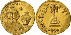 Ancient Coins - Coin, Constans II, Solidus, 641-668 AD, Constantinople, , Gold