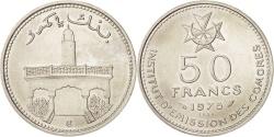 World Coins - Comoros, 50 Francs, 1975 ESSAI, Paris, , Nickel, KM:E6