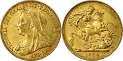 World Coins - Coin, Australia, Victoria, Sovereign, 1896, Sydney, , Gold, KM:13