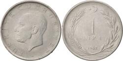 World Coins - Turkey, Lira, 1962, , Stainless Steel, KM:889a.1