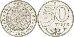 World Coins - Kazakhstan, 50 Tenge, 2013, KM #New, , Cupro-nickel, 4.64