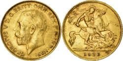World Coins - Coin, South Africa, George V, 1/2 Sovereign, 1926, Pretoria, , Gold