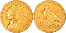 Us Coins - Coin, United States, Indian Head, $2.50, Quarter Eagle, 1908, U.S. Mint