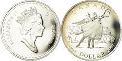 World Coins - Coin, Canada, Elizabeth II, Dollar, 2001, Royal Canadian Mint, Ottawa, Proof