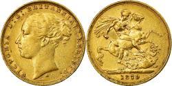 World Coins - Coin, Australia, Victoria, Sovereign, 1879, Melbourne, , Gold, KM:7