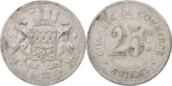 World Coins - France, Amiens, 10 Centimes, 1920, , Aluminium, Elie:10.1