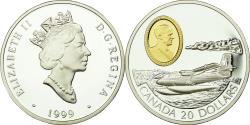 World Coins - Coin, Canada, Elizabeth II, 20 Dollars, 1999, Royal Canadian Mint, Ottawa