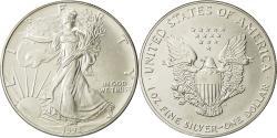 Us Coins - United States, Dollar, 1993, U.S. Mint, Philadelphia, MS(65-70), Silver, KM:273