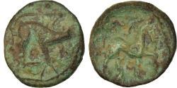 Ancient Coins - Coin, Ambiani, Bronze au Sanglier et au Cheval, Ist century BC,