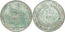 World Coins - Coin, FRENCH INDO-CHINA, 20 Cents, 1922, Paris, , Silver, KM:17.1