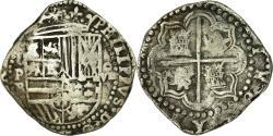 World Coins - Coin, Bolivia, Philip II, Cob, 8 Reales, Potosi, , Silver