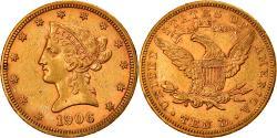 Us Coins - Coin, United States, Coronet Head, $10, Eagle, 1906, U.S. Mint, Philadelphia