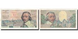 World Coins - France, 10 Nouveaux Francs, Richelieu, 1957, 1957-03-07, EF(40-45)