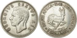 World Coins - Coin, South Africa, George VI, 5 Shillings, 1948, Pretoria, , Silver