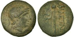 Ancient Coins - Coin, Mysia, Pergamon, Athena, Bronze, EF(40-45), Bronze