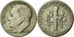 Us Coins - Coin, United States, Roosevelt Dime, Dime, 1946, U.S. Mint, Philadelphia