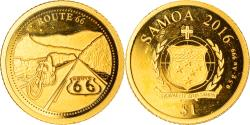 World Coins - Coin, Samoa, route 66, Dollar, 2016, , Gold
