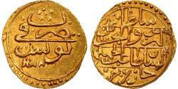 World Coins - Coin, Tunisia, TUNIS, Abdul Hamid I, 1/2 Sultani, AH 1188 (1774),
