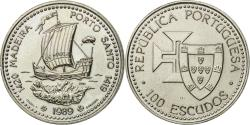 World Coins - Coin, Portugal, 100 Escudos, 1989, , Copper-nickel, KM:647