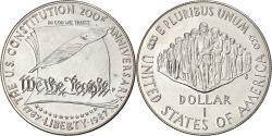 Us Coins - Coin, United States, 200ème anniversaire de la Constitution, Dollar, 1987, U.S.